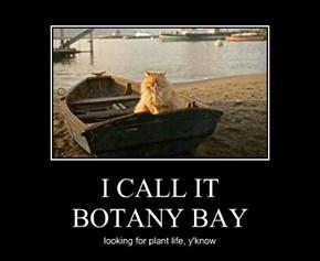 I CALL IT BOTANY BAY