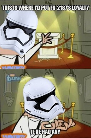 TR-8R's Loyalty Stand