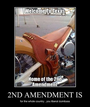 2ND AMENDMENT IS