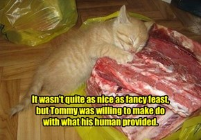It Was A Sacrifice, But Tommy Was Willing To Make It.