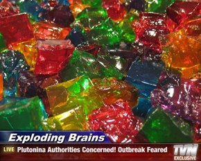 Exploding Brains - Plutonina Authorities Concerned! Outbreak Feared