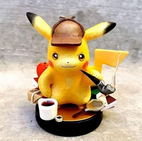 Somebody Already Has a Custom Detective Pikachu Amiibo