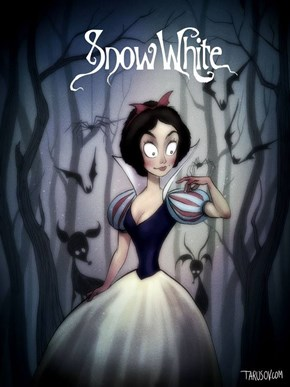 This Artist's Version of a Tim Burton Disney is Utter Perfection