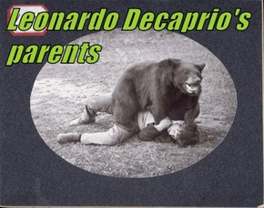 Leonardo Decaprio's parents