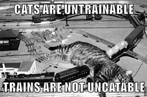 Trains Are Not Uncatable