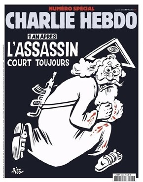 Charly Hebdo: One Year After: The Killer is Still On The Loose...