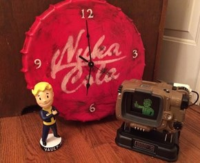 This Nuka-Cola Clock Would Make a Nice Addition to Any Dweller's Settlement