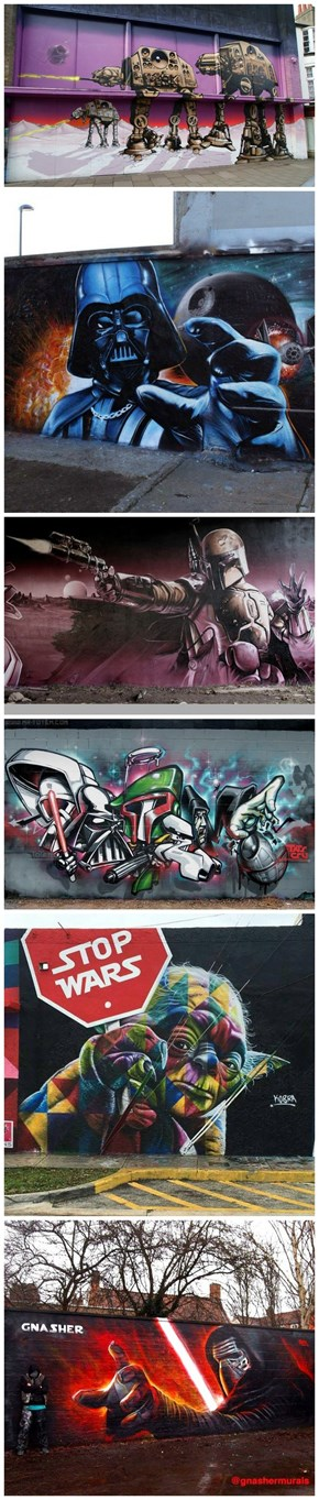 Star Wars Graffiti and Street Art From Around The World