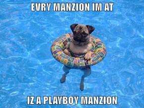 EVRY MANZION IM AT  IZ A PLAYBOY MANZION