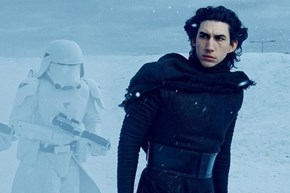 This Twitter Battle Between Very Lonely Luke and Emo Kylo Ren Takes the Cake