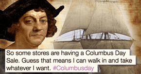 Just a Few Reminders Why Celebrating Columbus Day is Awkward AF