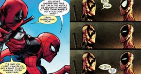 16 Times the Deadpool v Spider-Man Bromance Was Too Much for Us to Handle