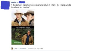 Failbook: Brokeback Perry