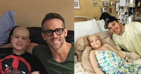 Chris Pratt and Ryan Reynolds Continue to Show Us They're a Couple Real Life Superheroes
