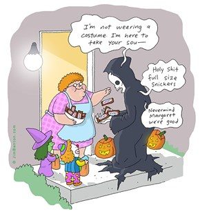 The Perfect Seasonal Cartoon Right Here