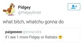 Pidgey Doesn't Joke