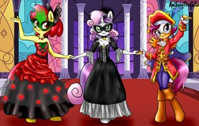 The Cutie Mark Masqueraders