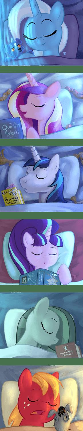 Shhh, Don't Disturb the Sleeping Horsies
