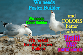 Posterbuilder | Comix | Breaking News