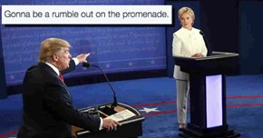 Everything You May Have Missed From Last Night's Debate