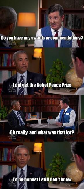 Honest Obama