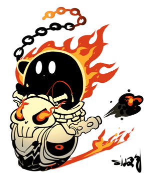 Ghost Rider Kirby
