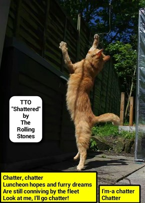 """""""Chatter"""" (TTO """"Shattered"""" by The Rolling Stones) (recaption: http://tinyurl.com/hw83k83"""