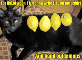 Happy Lemony HaLOLween