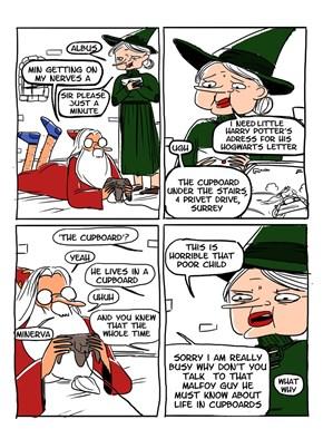 No Wonder Hogwarts Was Such a Deathtrap