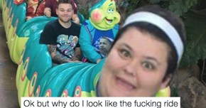 This Woman Found out That Her Celebrity Doppelgänger Is a 'Bug's Life' Ride at Disneyland