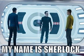 MY NAME IS SHERLOCK