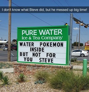 What Did You Do, Steve?