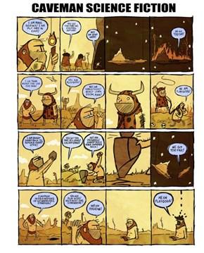 Caveman Science Fiction