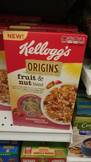 I'm Really Glad There's a Prequel Cereal So We Can Learn More About the Lore