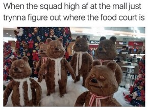 Maybe Some of Those Decorations Are Made of Chocolate?