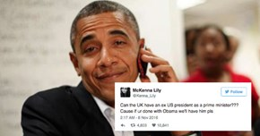 British People Are Pleading for Obama to Move to the UK to Become the Prime Minister
