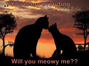 You is my everyfing.....