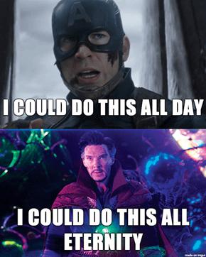 Steve vs Strange