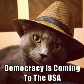 Democracy Is Coming To The USA