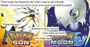 Pokemon Sun and Moon Launch and People Are In Love