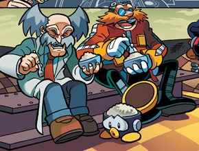 Ricing with Wily and Eggman
