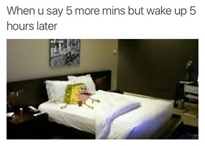 This is Why You Set Multiple Alarms