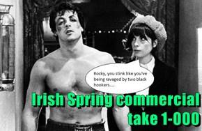 Irish Spring commercial take 1-000