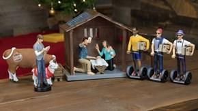Millennial Nativity Scene Set