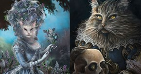These Historical Icons Reimagined as Cats Will Blow Your Mind