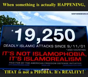 When something is actually HAPPENING,   THAT is not a PHOBIA. It's REALITY!