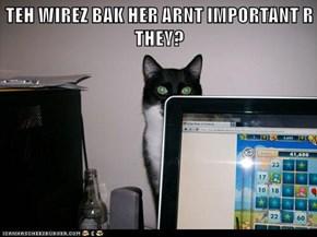 Aren't yew wireless?