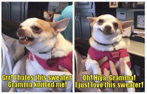 Gramma's surprise visit