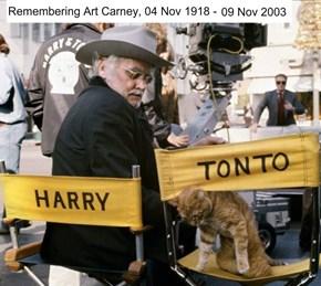 Art Carney & fur-iend as Harry & Tonto (1974)
