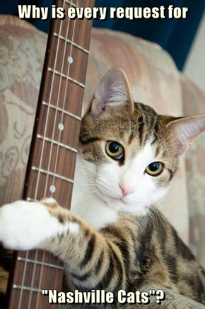 """Why is every request for  """"Nashville Cats""""?"""
